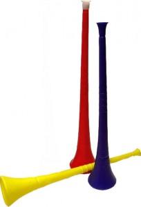 Vuvuzela image2 204x300 Vuvuzela : Vidéo du son de la Vuvuzela