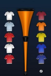 vuvuzela iphone1 200x300 Vuvuzela : le Son du Vuvuzela sur votre iPhone